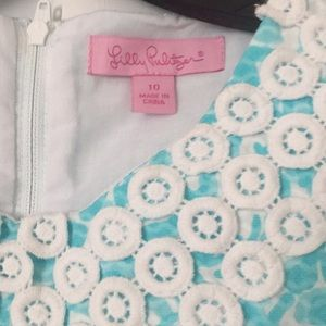 Lilly Pulitzer Dresses - White and blue Lilly Pulitzer dress